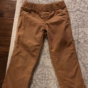 Brown casual 4T pants